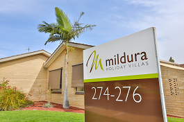 Mildura Holiday Villas Entrance Photo