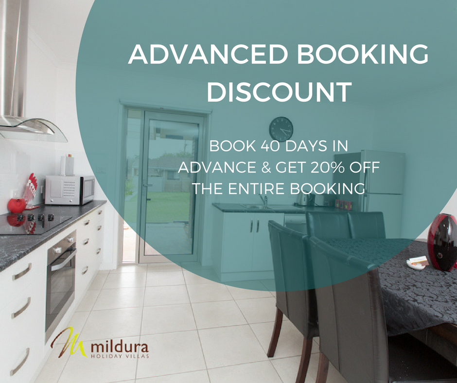 Mildura Holiday Villas 4 Night Special